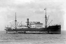 rp16936a - German Cargo Ship - Wiegand - photo 6x4