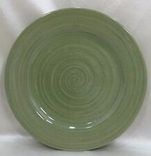 Rowe Pottery Works  Dinner Plate Sage Green Crackle Glaze