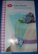 TALA CAKE DECORATING CUPCAKE PATTERN DESIGN SUGARCRAFT STENCIL MARKER