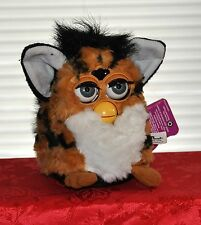 FURBY FULL SIZED 1998  BROWN TIGER BLUE EYES NON-WORKING INTERACTIVE TOY