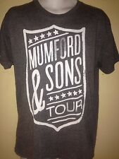 MUMFORD & SON TOUR 2013 MEDIUM  T-SHIRT ROCK OUT OF PRINT
