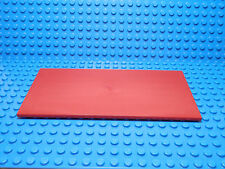 LEGO LEGOS  -  One  NEW  8 x 16 Tile with Bottom Tubes on Edges RED