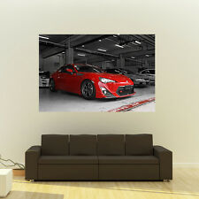Poster of Toyota GT86 GT-86 FRS FR-S Giant Huge 54x36 Inch Print 137x91 cm