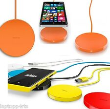 Genuine Nokia Qi Wireless Charger Pad DT-601 For Lumia 820 920 925 1020 - Orange