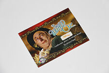 THE WIZARD OF OZ SERIES Authentic Scarecrow Straw PROP Card SCSS RARE SCSS