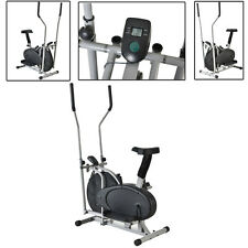 Elliptical Exercise Indoor Trainer Workout Machine Fitness Gym Equipment Cardio