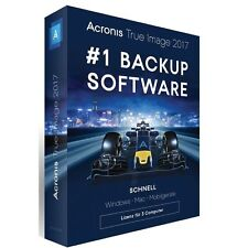 Acronis True Image - 3 dispositivi-WIN/MAC-tedesco-BOX-NUOVO
