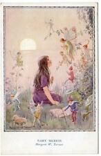 Early MARGARET TARRANT  Fairy Secrets   Postcard