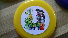 12 PLANTS VS ZOMBIES mini frisbees birthday party favors, treat bag loot, prize