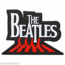 THE BEATLES Abbey Road Red Rock Band Logo Embroidered Iron-On Patches Cap #M0072