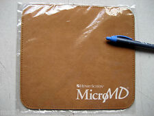 "NEW Super Soft Mouse Pad by Henry Schen MicoMD, Feels like Kidskin Leather 9""x8"""