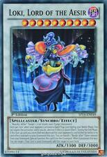 YuGiOh Loki, Lord of the Aesir SP14-EN049 Common 1st Edition x3