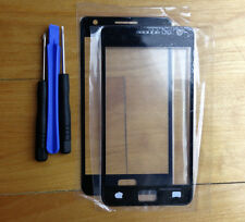 Black Outer Front Screen Glass Lens + Tool for Samsung Galaxy S2 SII i9100