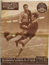 Miroir Sprint n°246 - 1951 - Rugby France Angleterre - Foot Le Havre Marseille