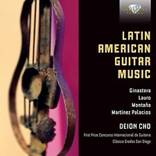 DEION CHO - LATIN AMERICAN GUITAR MUSIC  CD NEU GINASTERA/LAURO/MONTANA