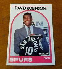 GREAT MINT CONDITION David Robinson Rookie Card - 1989 NBA Hoops #138 NMMT