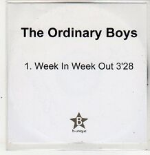 (ER385) The Ordinary Boys, Week In Week Out - DJ CD
