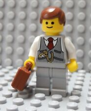 LEGO Lawyer CPA Businessman Manager Boss Realtor Broker CEO Banker Brown Hair