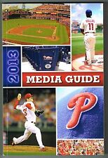 2013 Philadelphia Phillies MLB Baseball Media GUIDE