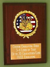 Basketball/Sport/Flag Award Plaque 4x6 Trophy FREE engraving