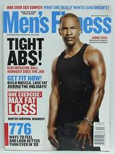 Mens Fitness Magazine Jamie Foxx Tight Abs Workout Holiday December/January 2009