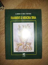 BORISH,BUA,DE ROSA - FRAMMENTI DI MEMORIA TRINA - ANNO:1993 (GK)