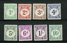 Gilbert & Ellice Island 1940 SG#D1-D8 Postage Dues MH Set #14090