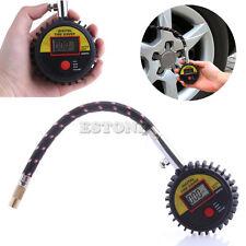 Car Motorcycle Bike Tire Tyre Air Pressure Gauge Digital Tester 300 PSI New