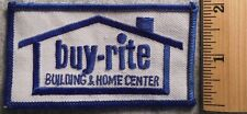 BUY RITE BUILDING & HOME CENTER PATCH (LUMBER, HARDWARE, UNIFORM)