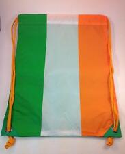 New gym bag with flag of Ireland, great Irish tricolour bag bratach na hÉireann