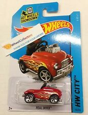Pedal Driver *  #74 RED * 2015 Hot Wheels * New Case C * N11