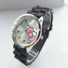 Hello Kitty Silicone Wrist band Watch ~ NEW