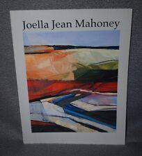 JOELLA JEAN MAHONEY  PAINTINGS 1965 - 2002, SIGNED ART CATALOG
