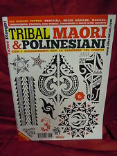 INSPIRE UK TB203  TRIBAL MAORI AND POLYNESIAN BOOK  TATTOO DESIGN