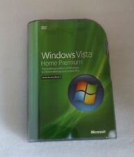 Microsoft Windows Vista Home Premium SP1 32-bit w/COA/Retail box new sealed