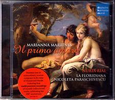 Marianna MARTINES: IL PRIMO AMORE Nuria RIAL CD Harpsichord Concerto Sonata NEU