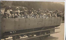 Blue Coach Tours Charabanc Real Photo Postcard #3, More Motoring Images Listed