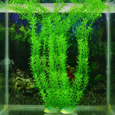 Ornament Artificial Green Plant Grass for Fish Tank Aquarium Decor Plastic