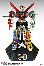 "Toynami 30th Anniversary VOLTRON Collector's 11"" Figure Set Light-up eyes NEW!"