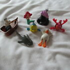 MCDONALDS DISNEY LITTLE MERMAID FIGURES PRINCESS set LOT 7¤Ariel¤Eric¤Sebastian¤