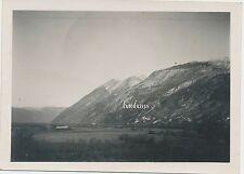 Foto Feldzug in Norwegen- Gebirgslandschaft   2.WK (B283)