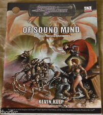 SWORD & SORCERY - OF SOUND MIND - A Psionic Fantasy Adventure - d20 System - D&D