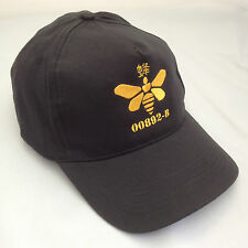 Breaking Bad Golden Moth Chemical Embroidered Baseball Cap Hat Black and Gold