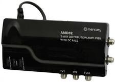 MERCURY 130.030 rete alimentata Segnale Amplificatore di distribuzione CON PASSAGGIO CC 3 OUT