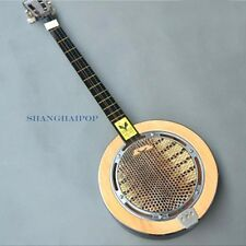Qinqin Qin Qin Oriental Cantonese Sanxian Sanshin 3-stringed Plucked Instrument