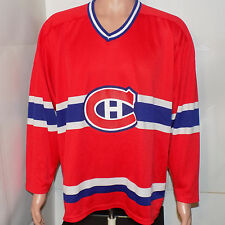 Montreal Canadiens Vintage CCM Hockey Jersey (XL) 1980's 1990's NHL Canada Maska