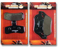 Harley F+R Brake Pads Softail Standard (08-14) Night Train Heritage Soft Deluxe