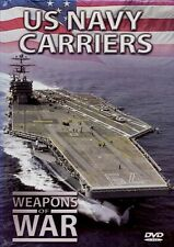 US Navy Carriers – Weapons of War (DVD and Booklet) military battle war defense