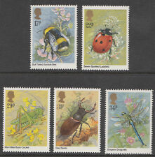 GB QEII 1985 Insects Stamp Set MNH SG 1277-1281 10% OFF ANY 5+