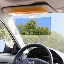 Car Sun Visor Anti-Glare Blocker UV Fold Flip Down HD Clear View Visor Sun Visor